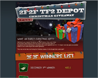 2f2f Depot - Christmas Giveaway